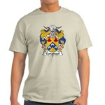 Garategui Family Crest  Light T-Shirt