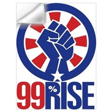 99Rise Logo Wall Decal