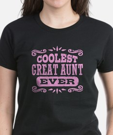 Coolest Great Aunt Ever Tee