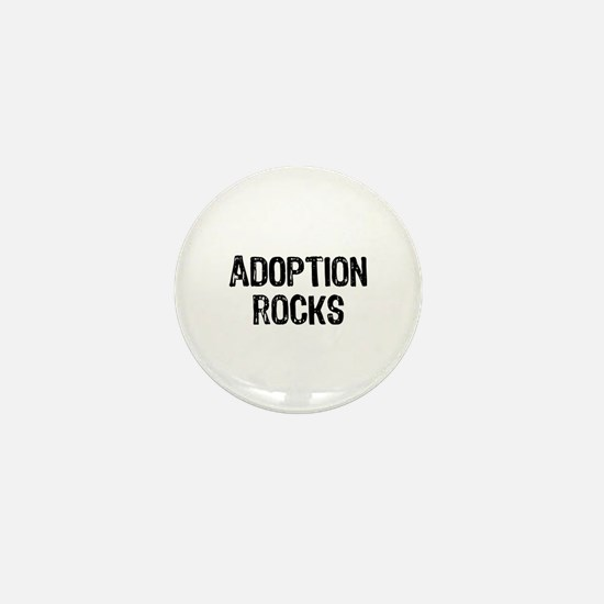 Adoption Rocks Mini Button