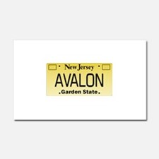Avalon NJ Tag Giftware Car Magnet 20 x 12