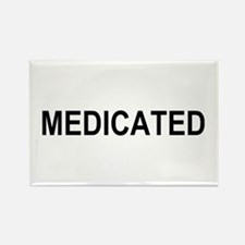 Medicated Rectangle Magnet