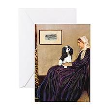 Mom's Tri Cavalier Greeting Card
