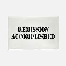 Remission Accomplished Rectangle Magnet
