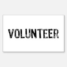 Volunteer Decal
