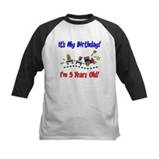 Cute Girl 5th birthday Tee