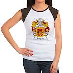Galicia Family Crest Women's Cap Sleeve T-Shirt