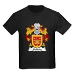 Galicia Family Crest Kids Dark T-Shirt