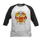 Galicia Family Crest Kids Baseball Jersey
