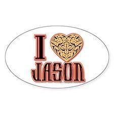 I Love Jason Decal