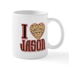 I Love Jason Mugs