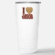 I Love Jason Travel Mug