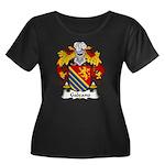 Galeano Family Crest Women's Plus Size Scoop Neck