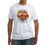 Galeano Family Crest Fitted T-Shirt