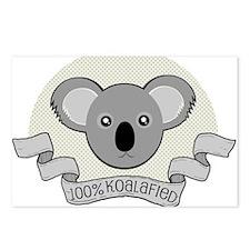 100% Koalafied Postcards (Package of 8)
