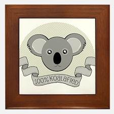 100% Koalafied Framed Tile