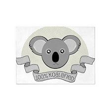 100% Koalafied 5'x7'Area Rug