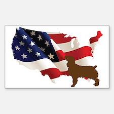 USA Proud Boykin Spaniel Decal