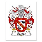 Galdos Family Crest Small Poster