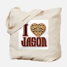 I Love Jason Tote Bag