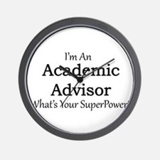 Academic Advisor Wall Clock