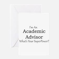 Academic Advisor Greeting Cards