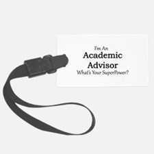 Academic Advisor Luggage Tag