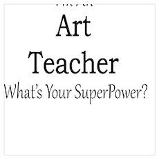 Art Teacher Poster