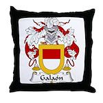Galaon Family Crest Throw Pillow
