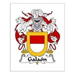 Galaon Family Crest Small Poster