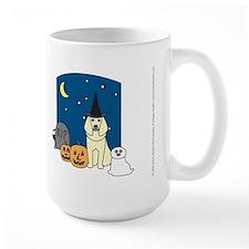 Cream Poodle Halloween Mug