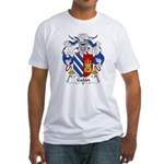 Galan Family Crest Fitted T-Shirt