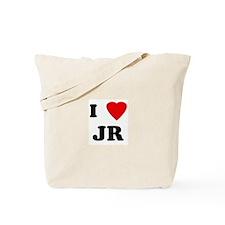 I Love JR Tote Bag