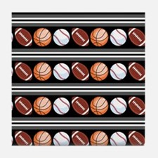 Sports Fan Tile Coaster