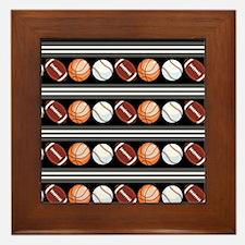 Sports Fan Framed Tile