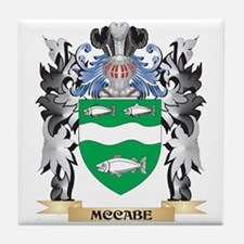 Mccabe Coat of Arms - Family Crest Tile Coaster