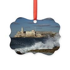 Morro Castle Picture Ornament