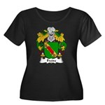Freire Family Crest Women's Plus Size Scoop Neck D