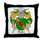 Freire Family Crest Throw Pillow