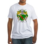 Freire Family Crest Fitted T-Shirt