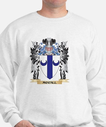Mccall Coat of Arms - Family Crest Sweatshirt