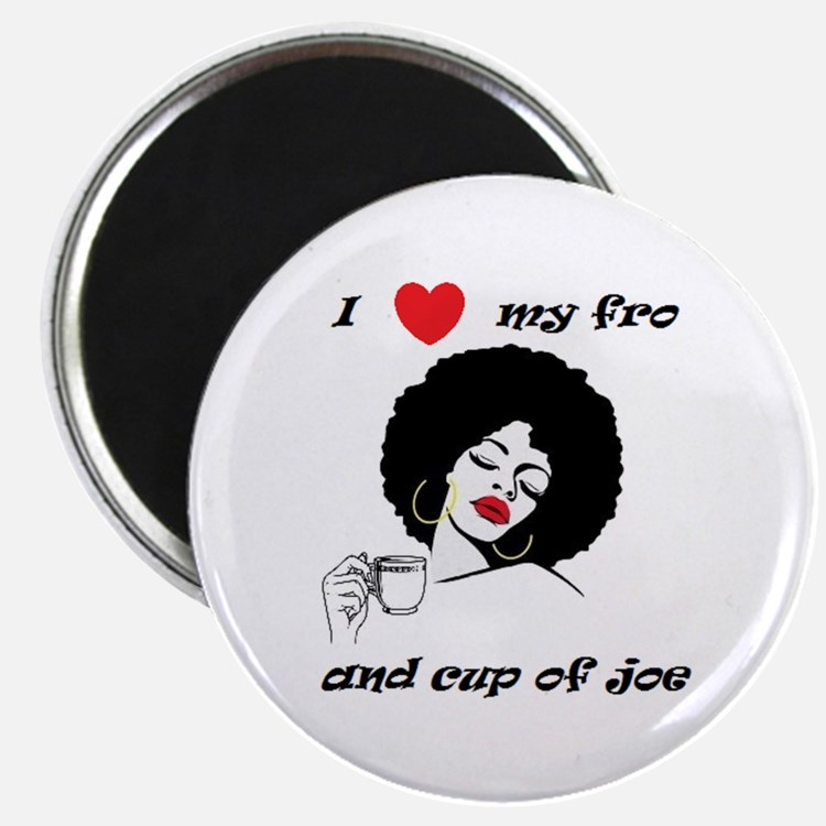 Coffee Fro Lover Magnets