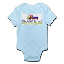 Cute Big brother train Infant Bodysuit