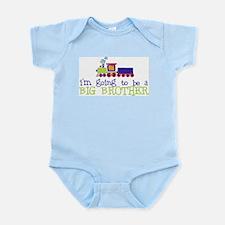 Cool Big brother train Infant Bodysuit