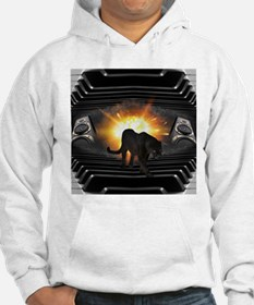 electric keyboard black panther Hoodie