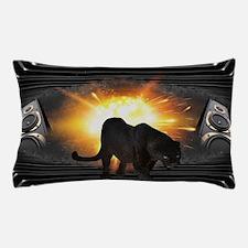 electric keyboard black panther Pillow Case