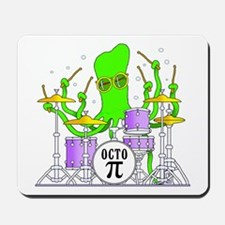 Drumming Octopus Mousepad