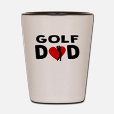 Golf Dad Shot Glass