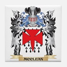 Mcclean Coat of Arms - Family Crest Tile Coaster