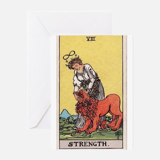 """Strength"" Greeting Card"